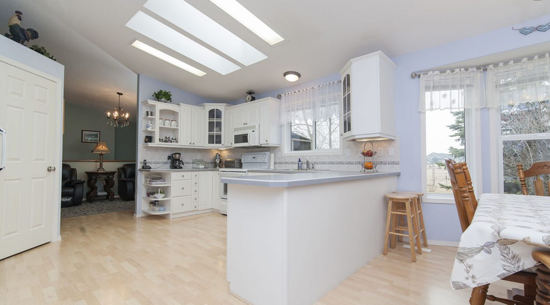 Photo d'une ancienne cuisine